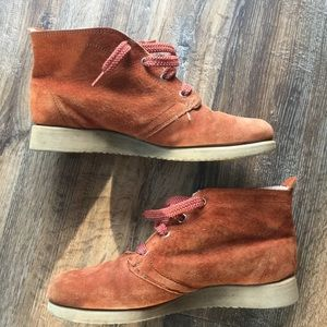 Hush Puppies Sherpa Lined Suede Booties